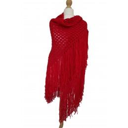 Granny stitch Triangle shawl