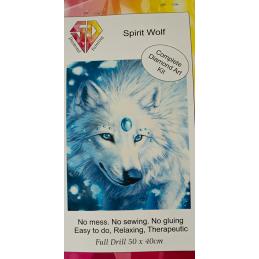 Spirit Wolf 5D Painting